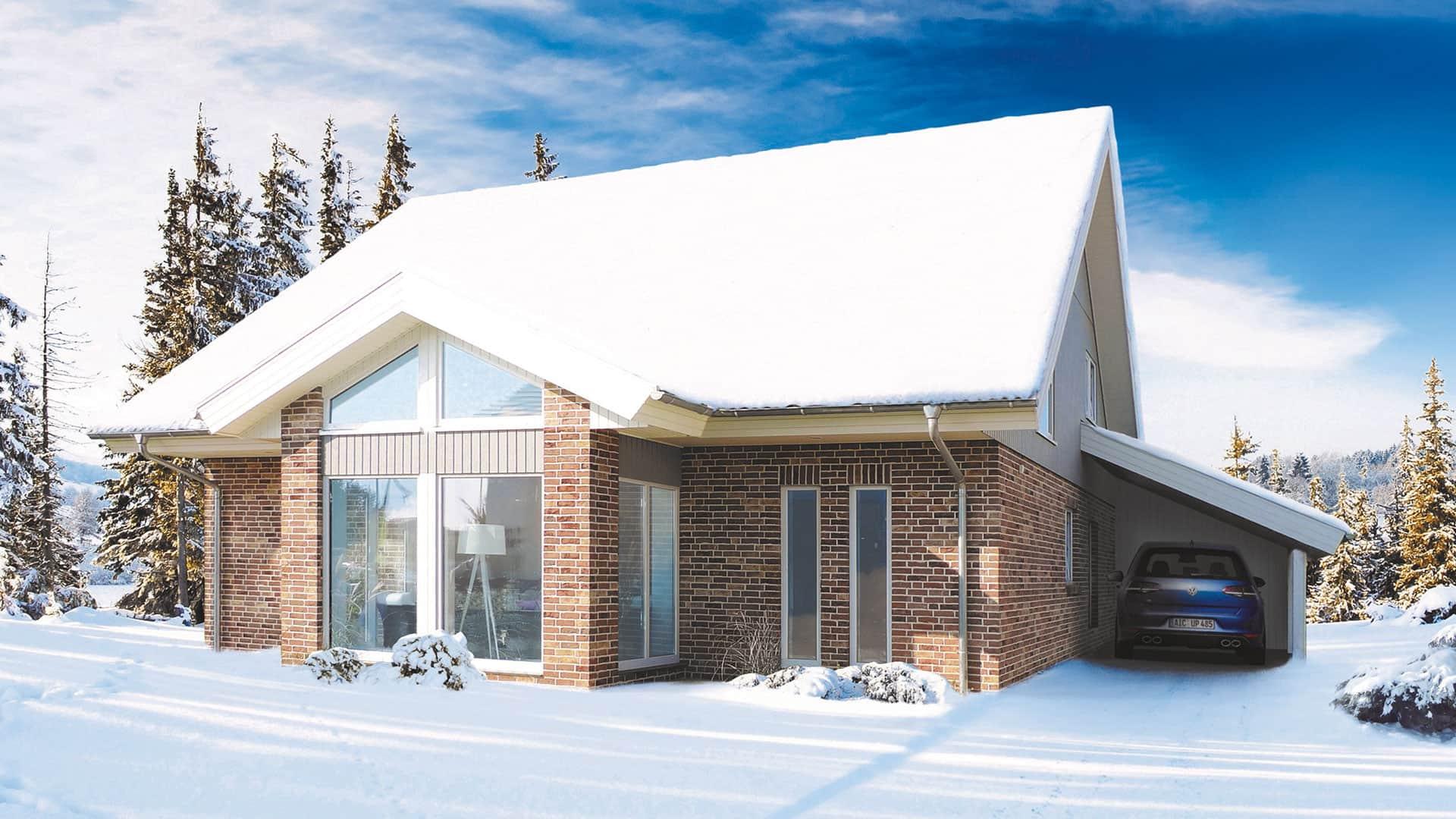 Das 1-Liter-Haus mit Polar-Wärmeschutz