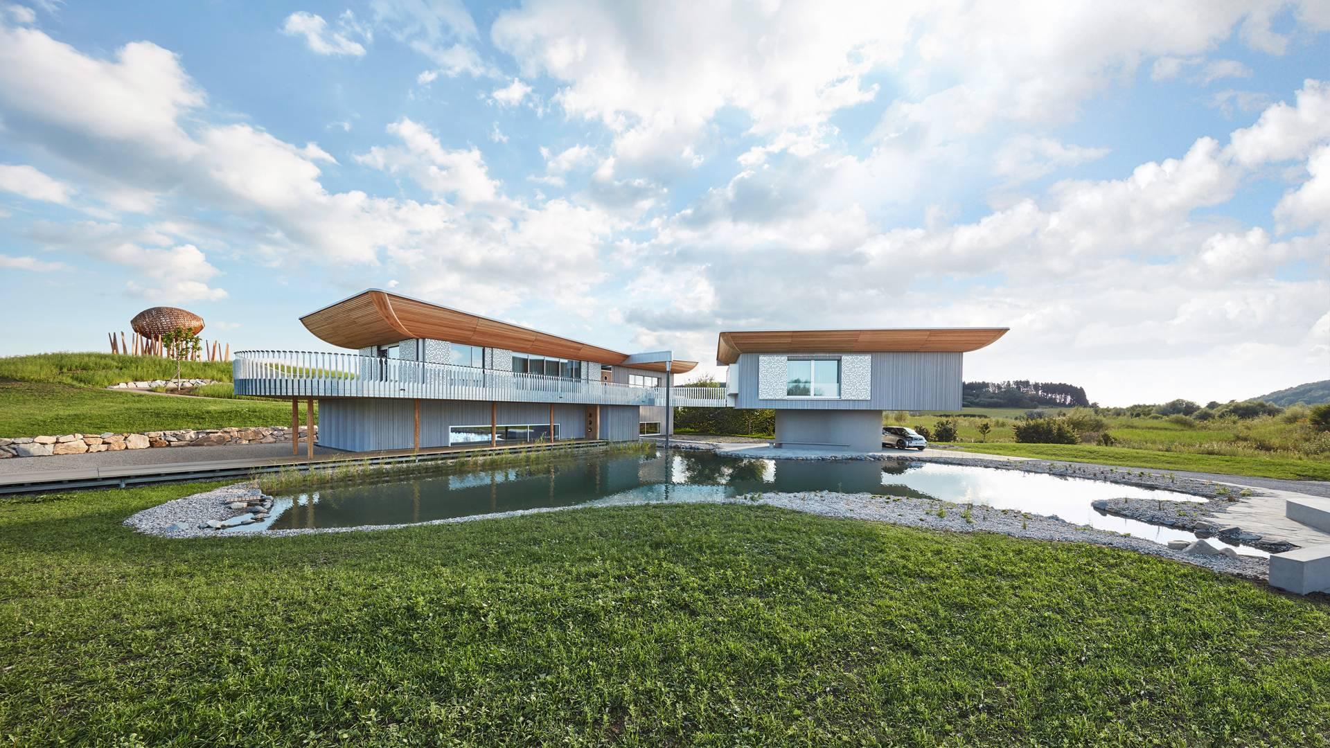 Baufritz Konzepthaus Haussicht