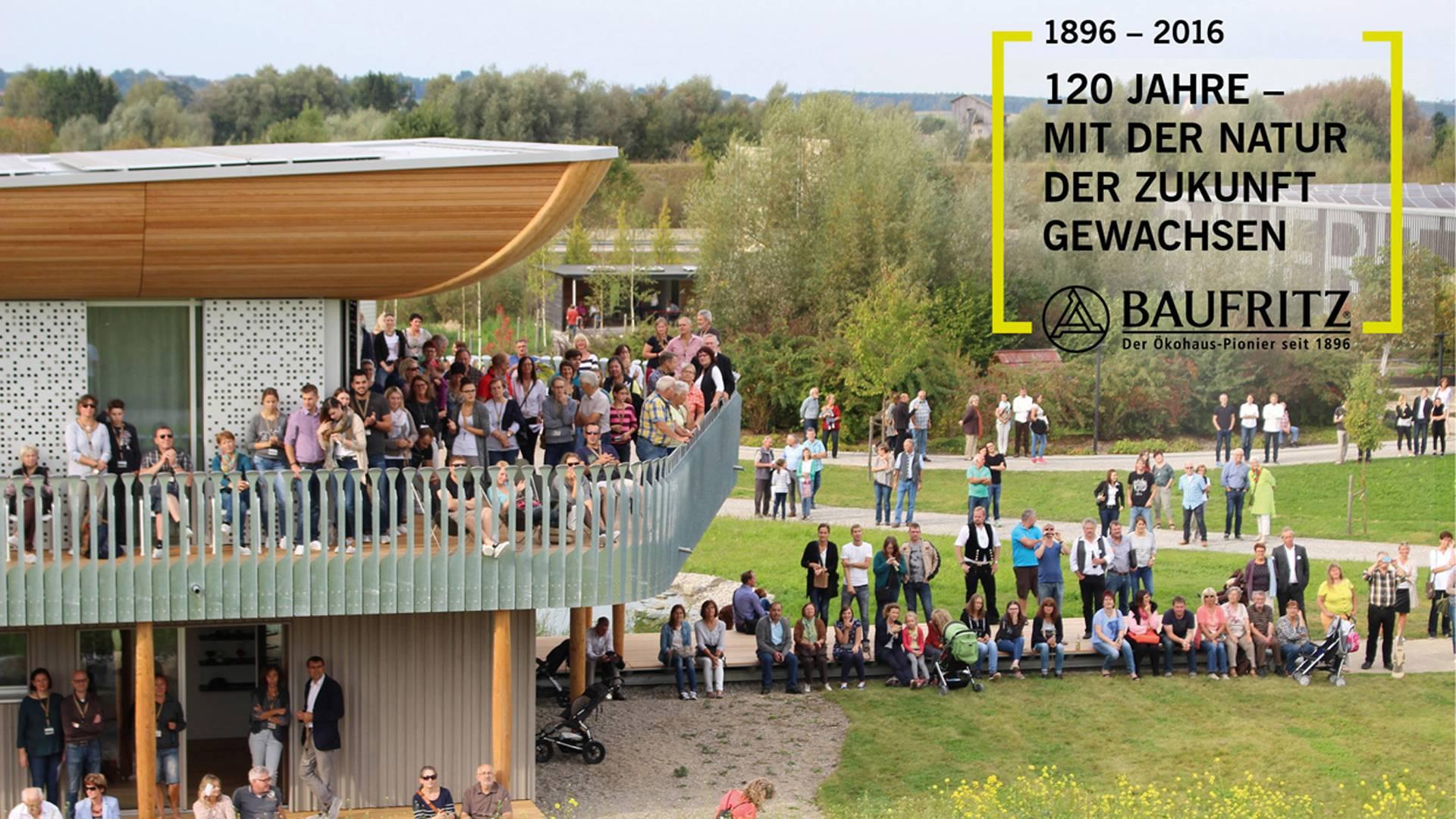 Baufritz Jubiläum 120 Jahre