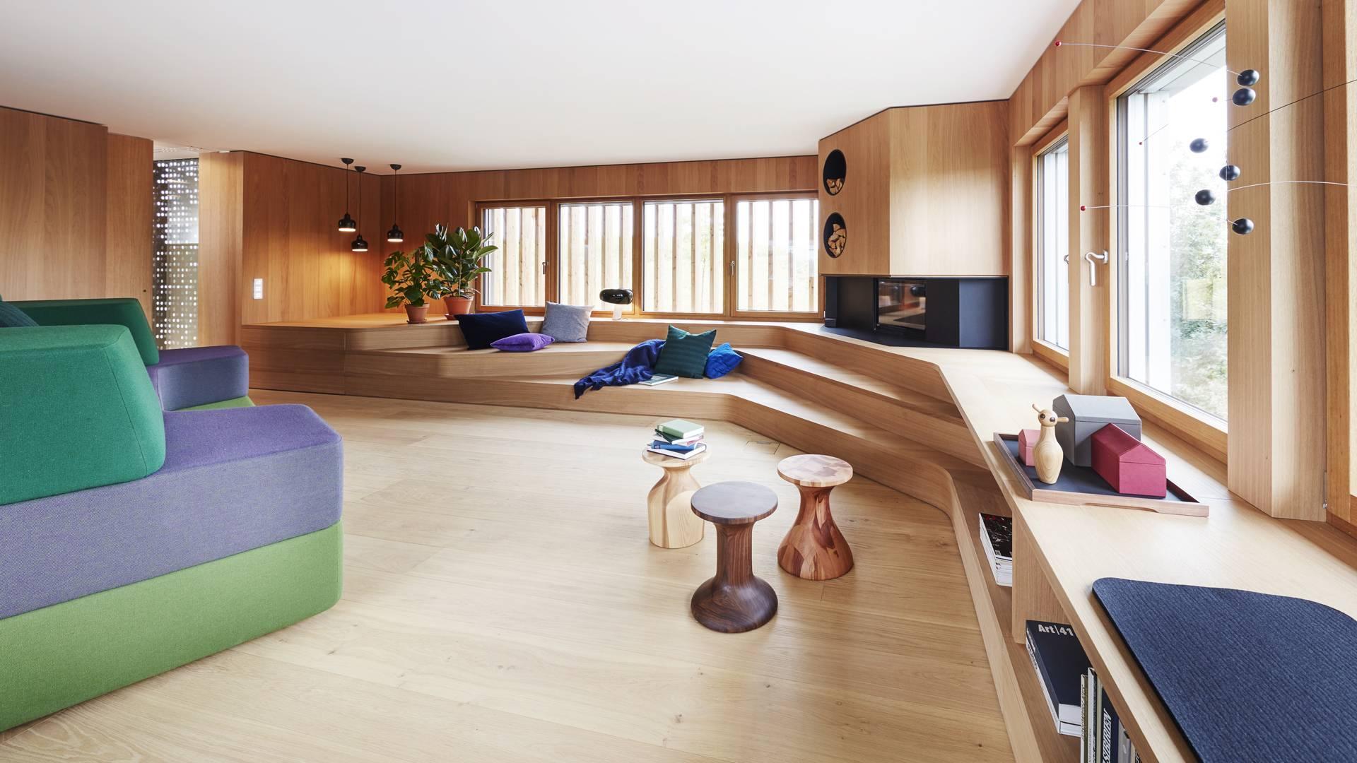 Baufritz Konzepthaus Haussicht Fensterbank
