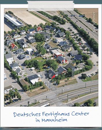 Deutsches Fertighaus Center in Mannheim