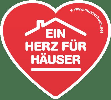 Badge - Ein Herz für Häuser