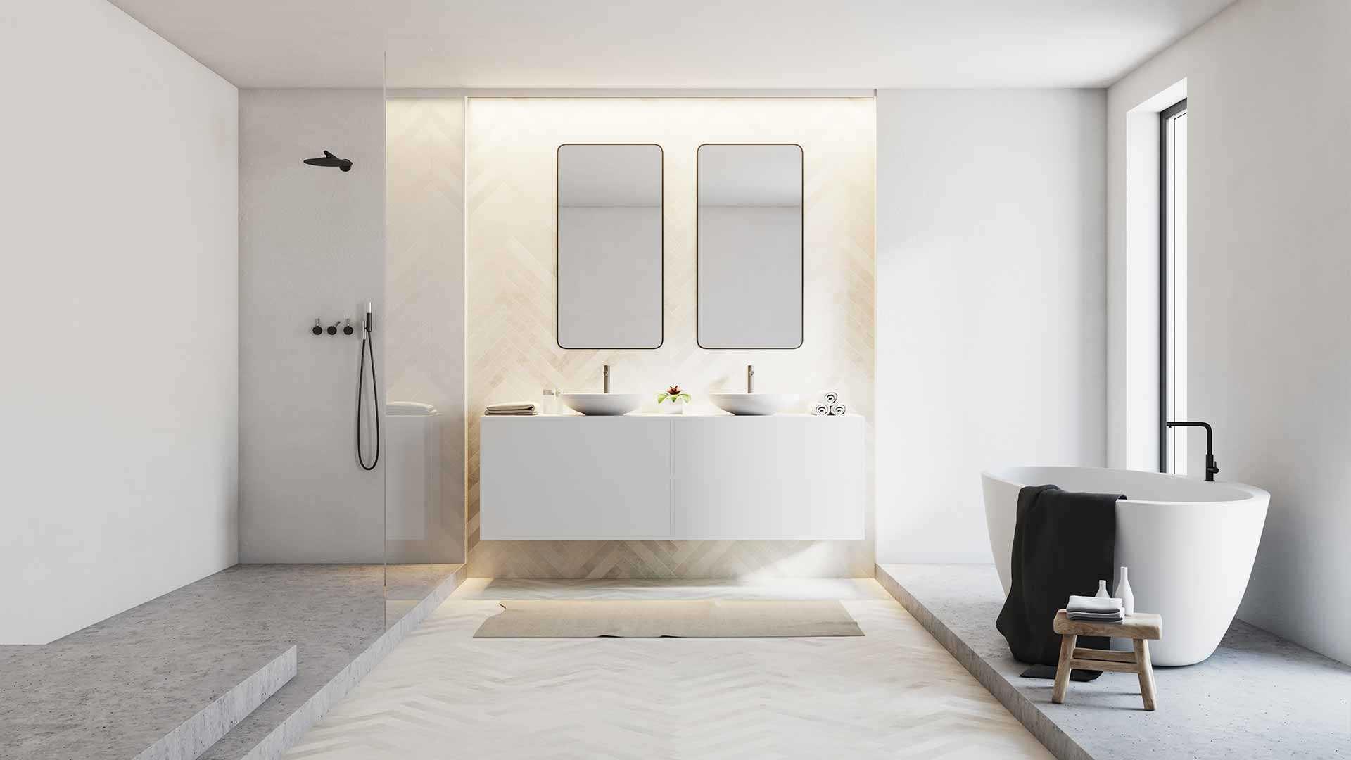 Einrichtungstrends für das Badezimmer - Ratgeber - Musterhaus.net