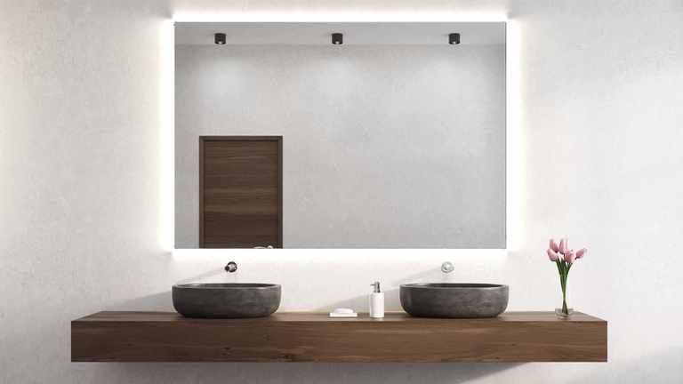 Badezimmertrend: Lichtspiegel
