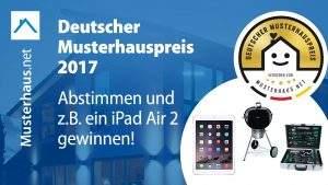 Musterhauspreis Gewinnspiel 2017