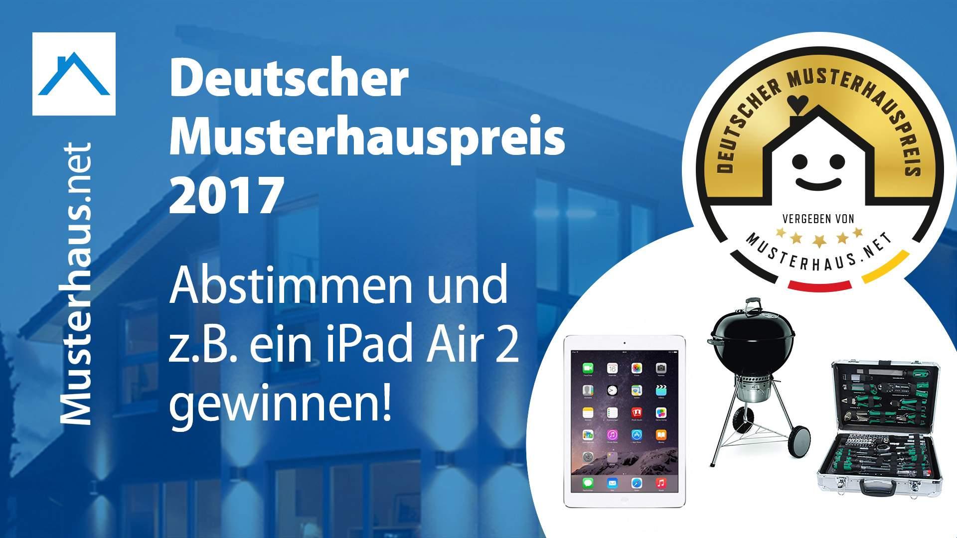 Deutscher Musterhauspreis Gewinnspiel