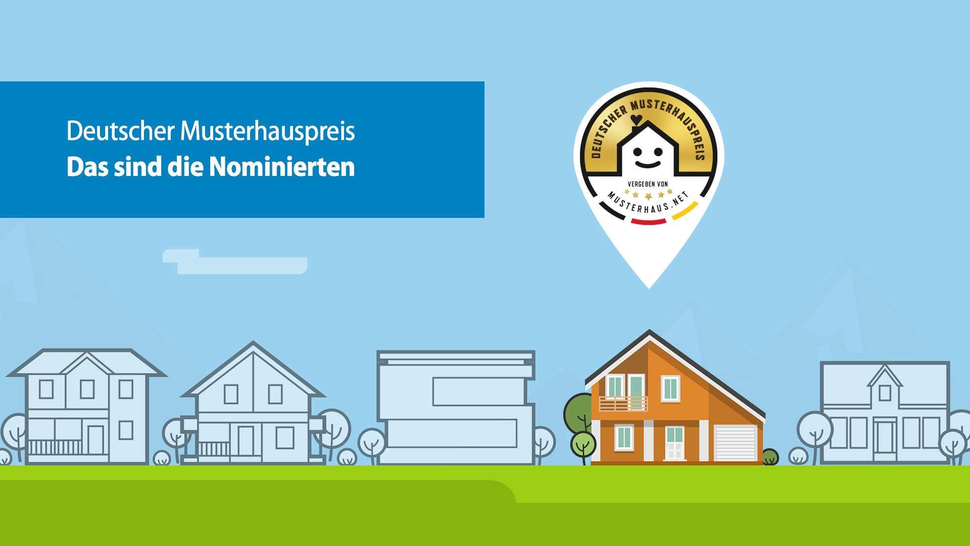 Deutscher Musterhauspreis 2017 Nominierte