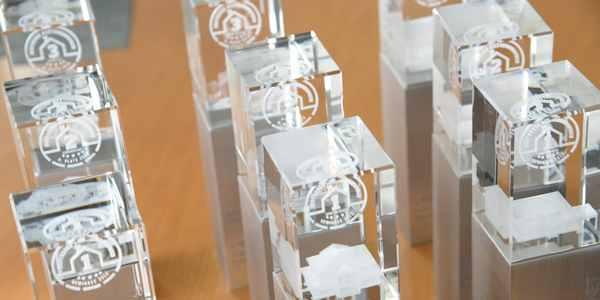 Musterhauspreis Pokale