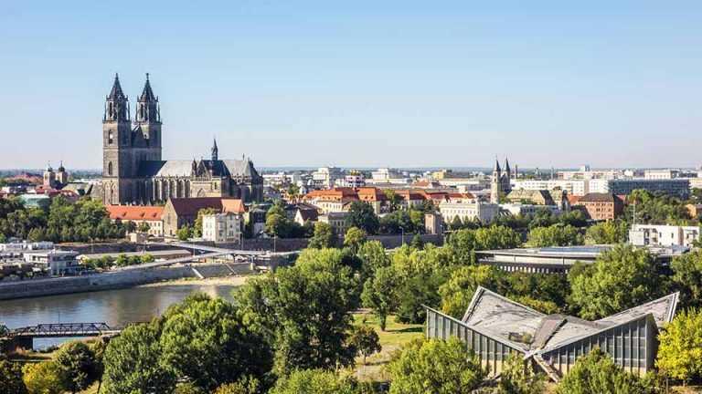 Panorama - Bauen in Magdeburg