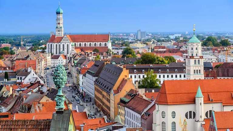 Panorama - Haubsau in Augsburg