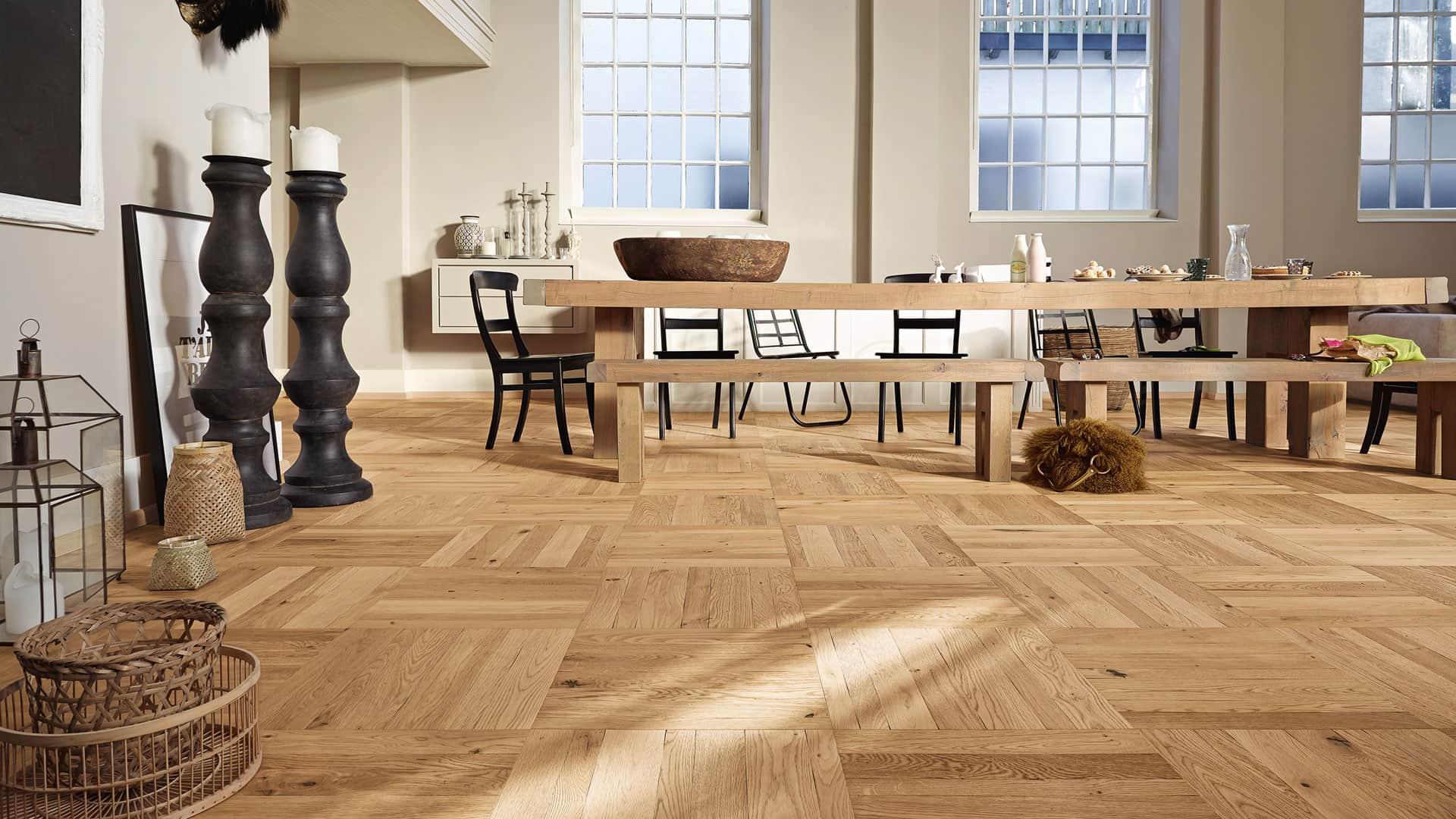 Parkettboden  Parkettboden – Holz im Original | Ratgeber Musterhaus.net
