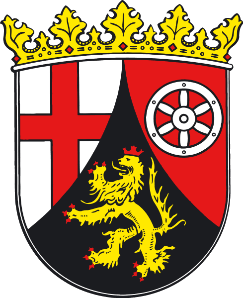 Rheinland-Pfalz Landeswappen