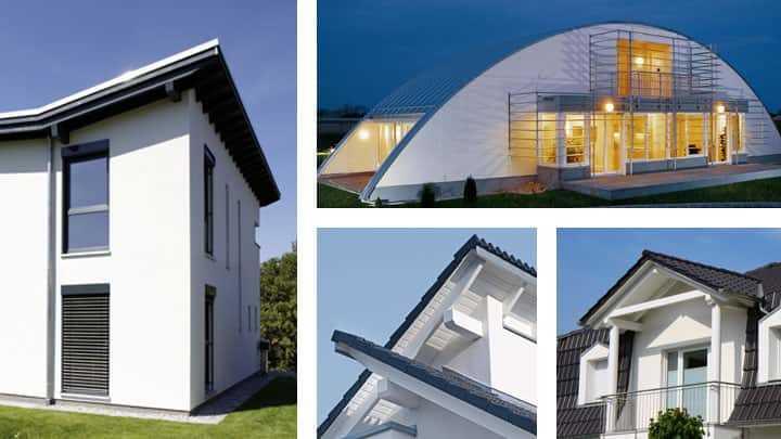 Dachformen Architektenhaus