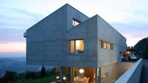 Architektenhaus Doppelpultdach