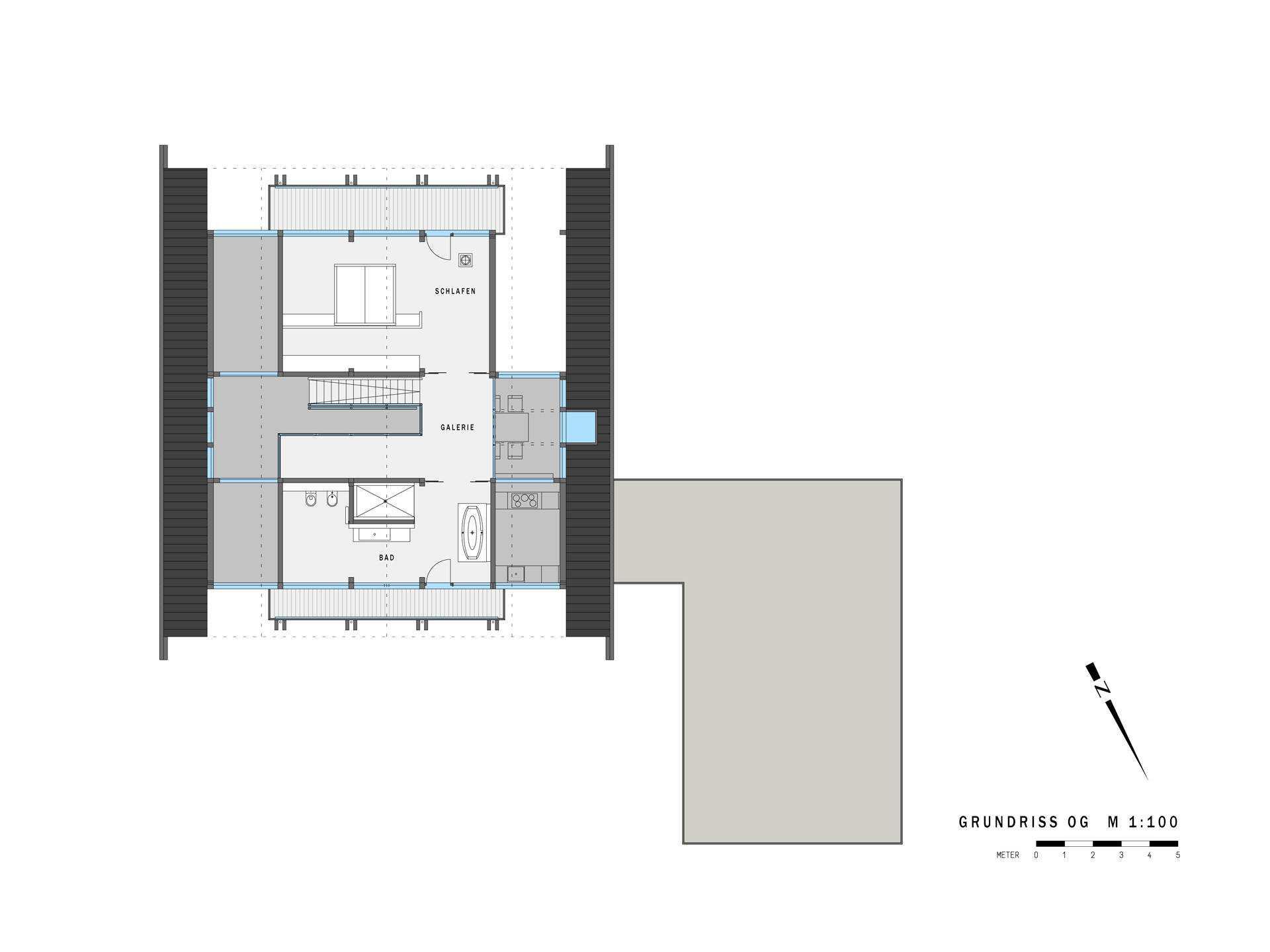 chalet bauen hausbeispiele mit grundrissen und preisen. Black Bedroom Furniture Sets. Home Design Ideas