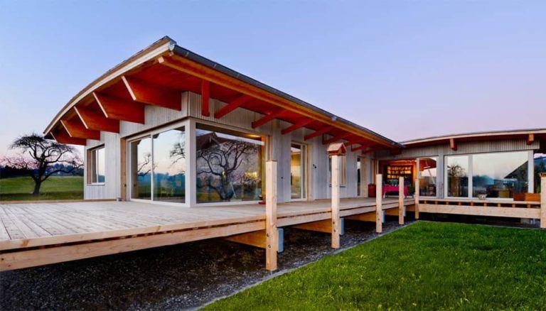 Palisadiohaus - Ein barrierefreies, rollstuhlgerechtes Pfarrhaus im Vorallgäu.