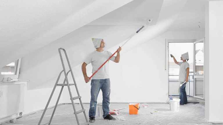 Renovieren der alten Wohnung