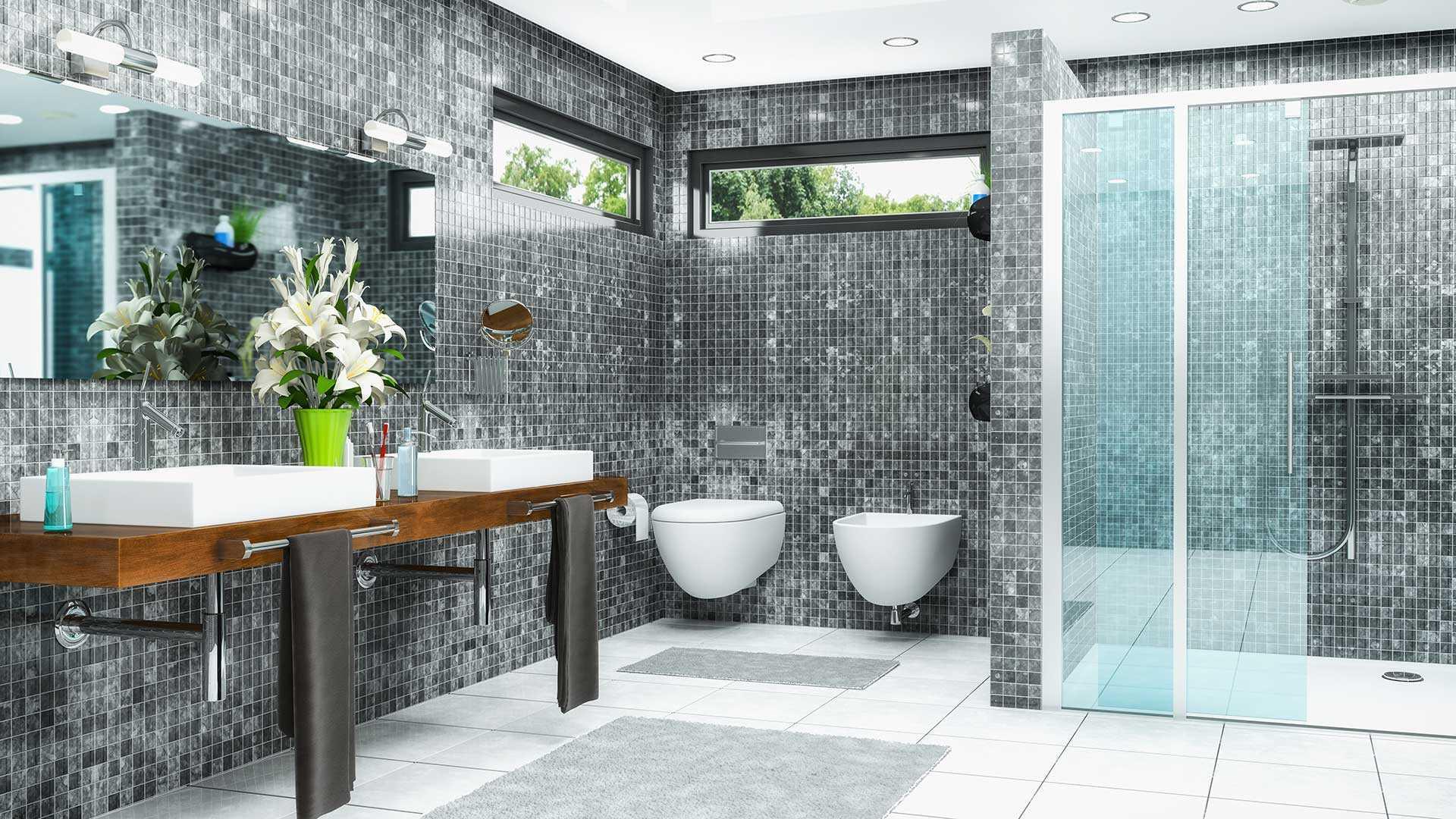Fenster im Badezimmer | Welche Fenster eignen sich im Bad?
