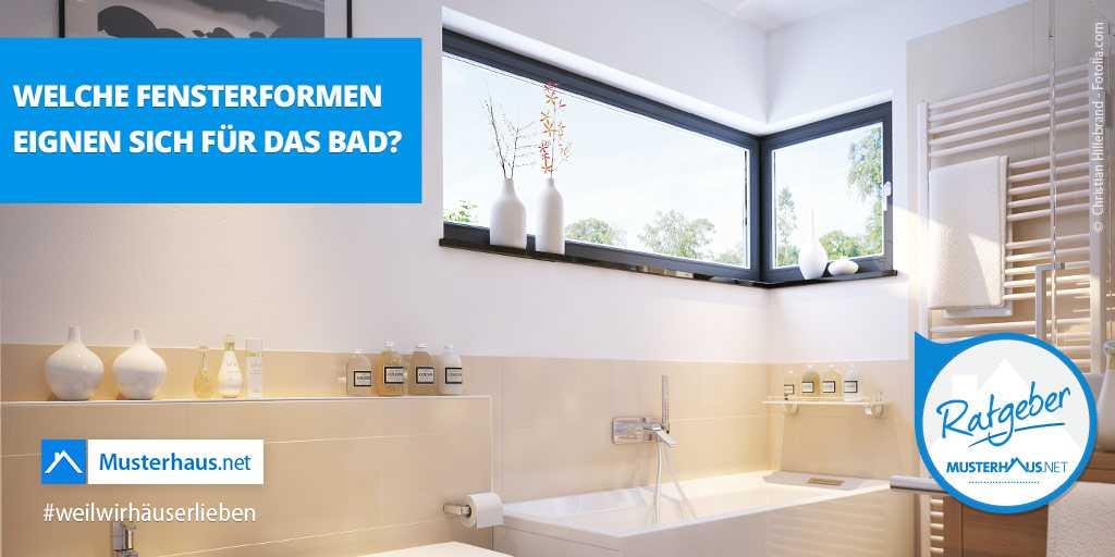 Häufig Fenster im Badezimmer | Welche Fenster eignen sich im Bad? VB02