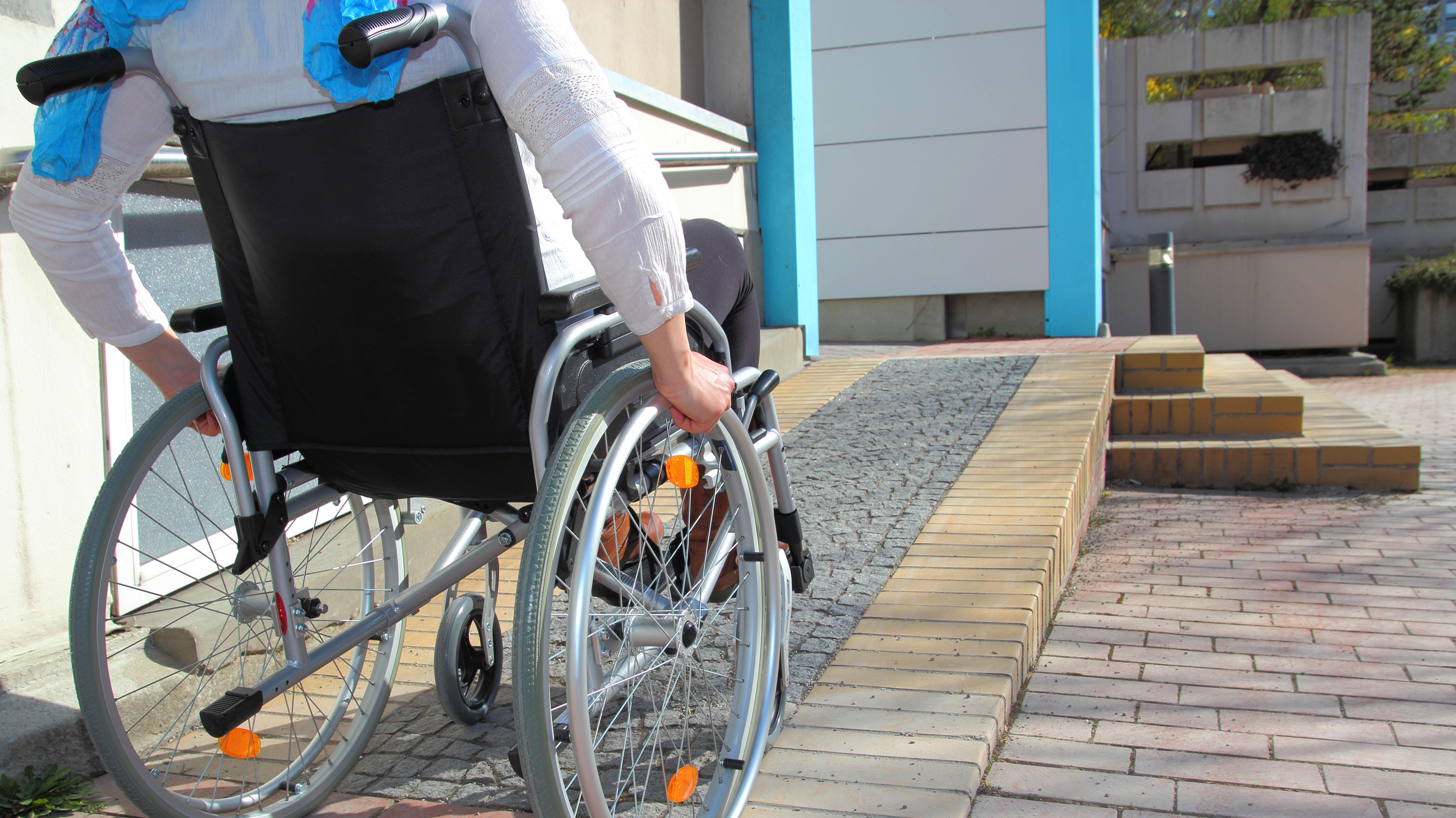 Barrierefreiheit für Rollstuhlfahrer