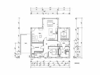 barrierefreies Haus - Musterhaus Riedel -Grundriss