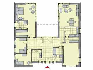 Barrierefreies Haus - Gussek Haus – Bungalow Cote d'Azur EG