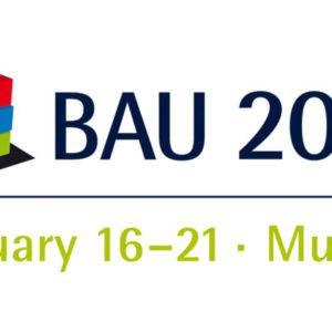 BAU 2017 – Weltmesse für Architektur, Material und Systeme