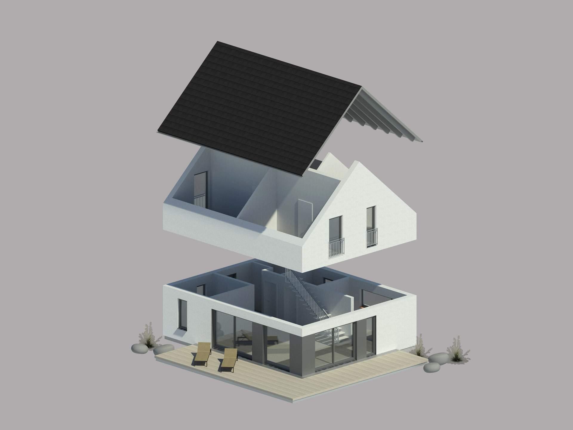 Bauen.wiewir entwickelt Hauskonfigurator