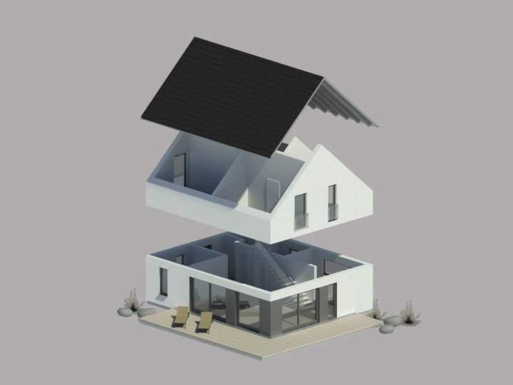 Hauselemente zur Konfiguration