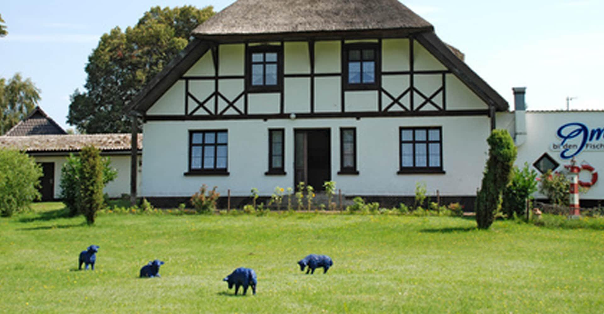 Bauernhaus auf dem Land