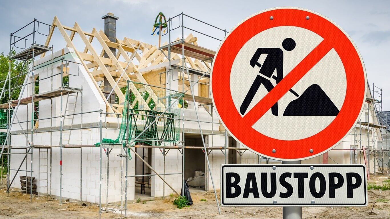 Baufirma insolvent