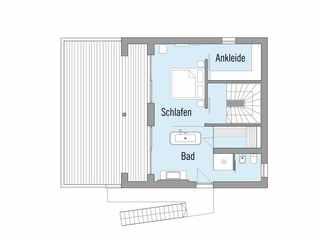 Baufritz – Haus am See Grundrisse OG