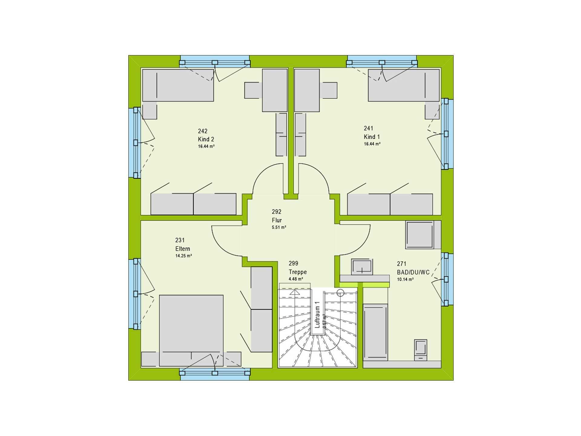 Kubus haus bauhausstil beispielh user anbieter in for Bauhaus einfamilienhaus grundriss