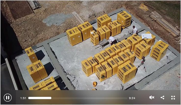 Bausatzhaus bauen mit Ytong