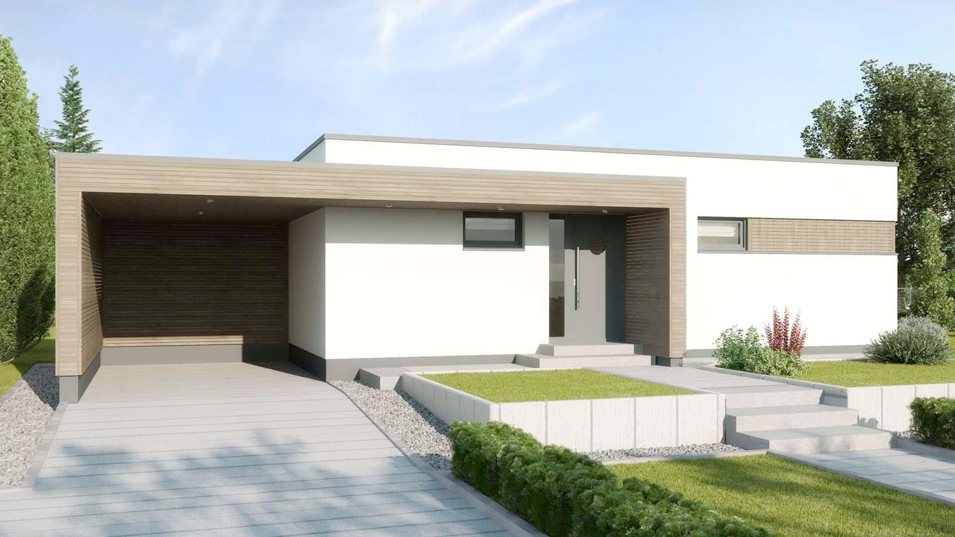 modernen bungalow auf entdecken. Black Bedroom Furniture Sets. Home Design Ideas