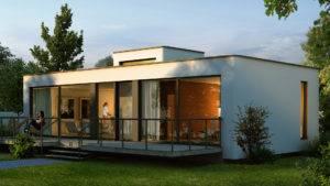 Bungalow als Singlehaus