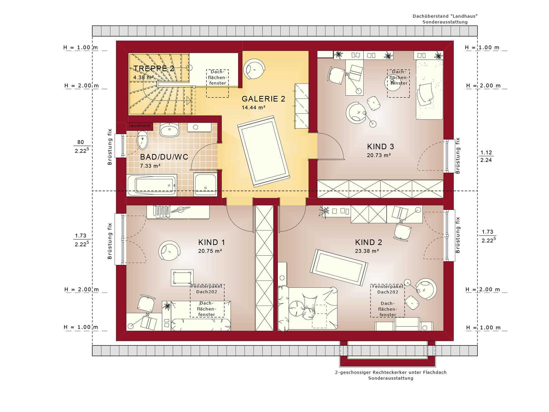 bien zenker celebration 275 v3 dg - Mehrfamilienhaus Grundriss Beispiele