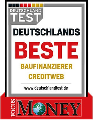 creditweb Bester Baufinanzierer