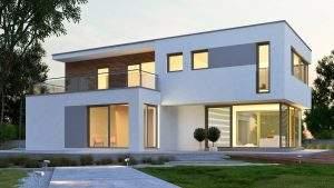 Designerhaus im Bauhausstil