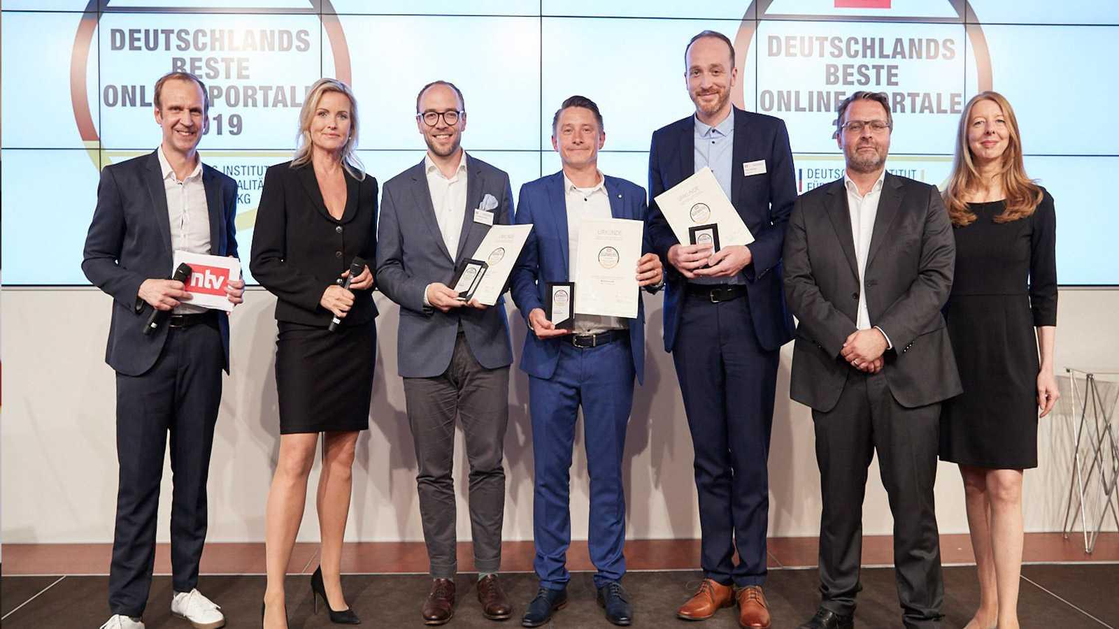 Deutschlands bestesHhausbauportal-gewinner