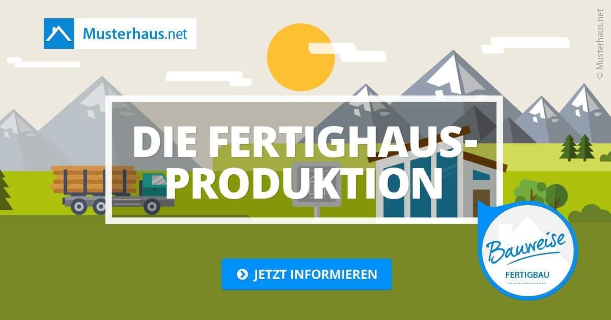 Die Fertighausproduktion in 15 Schritten