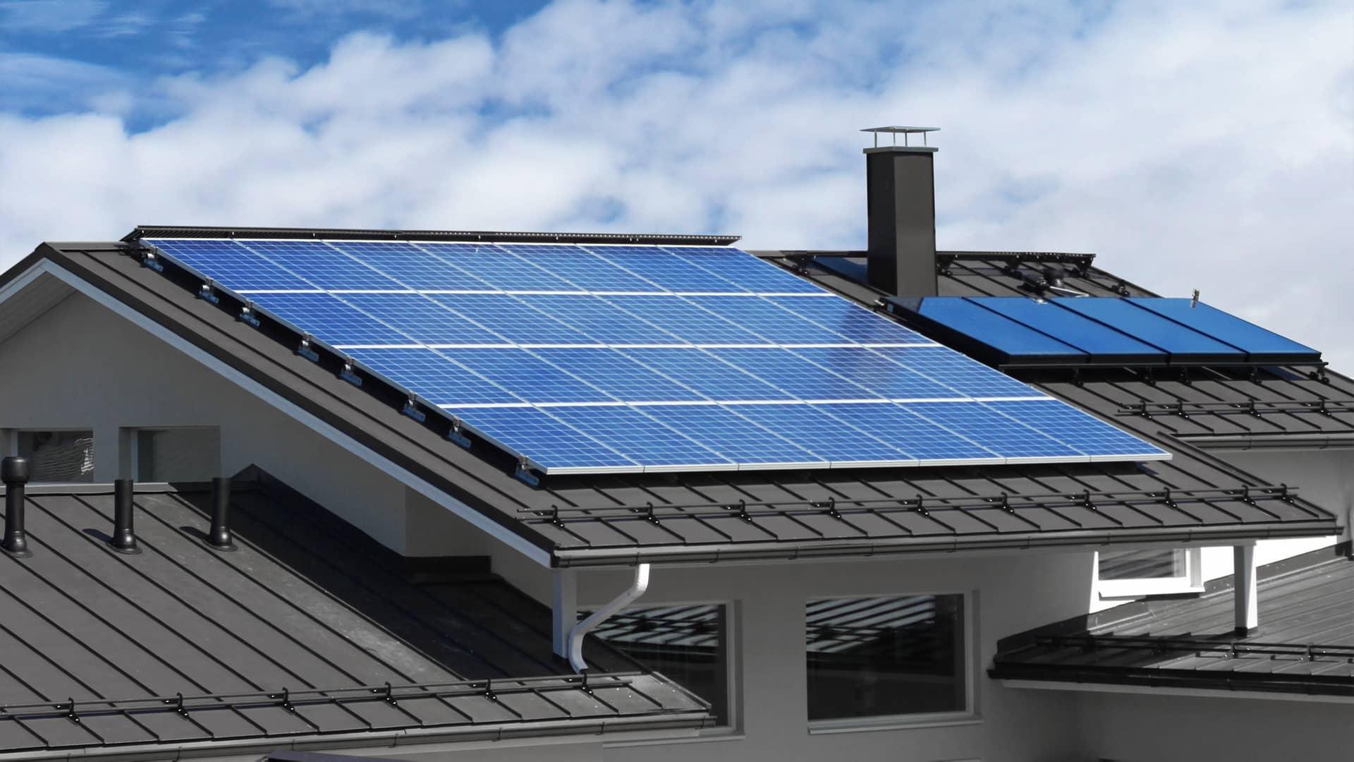 effizienzhaus photovoltaik anlage