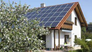 Effizienzhaus Solaranlage