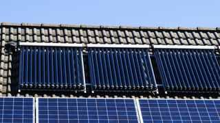 Solarthermische-Anlage
