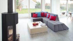 Effizienzhaus Wohnzimmer