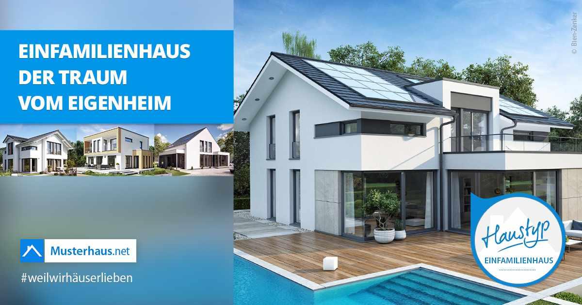 Moderne einfamilienh user auf vergleichen for Muster einfamilienhaus