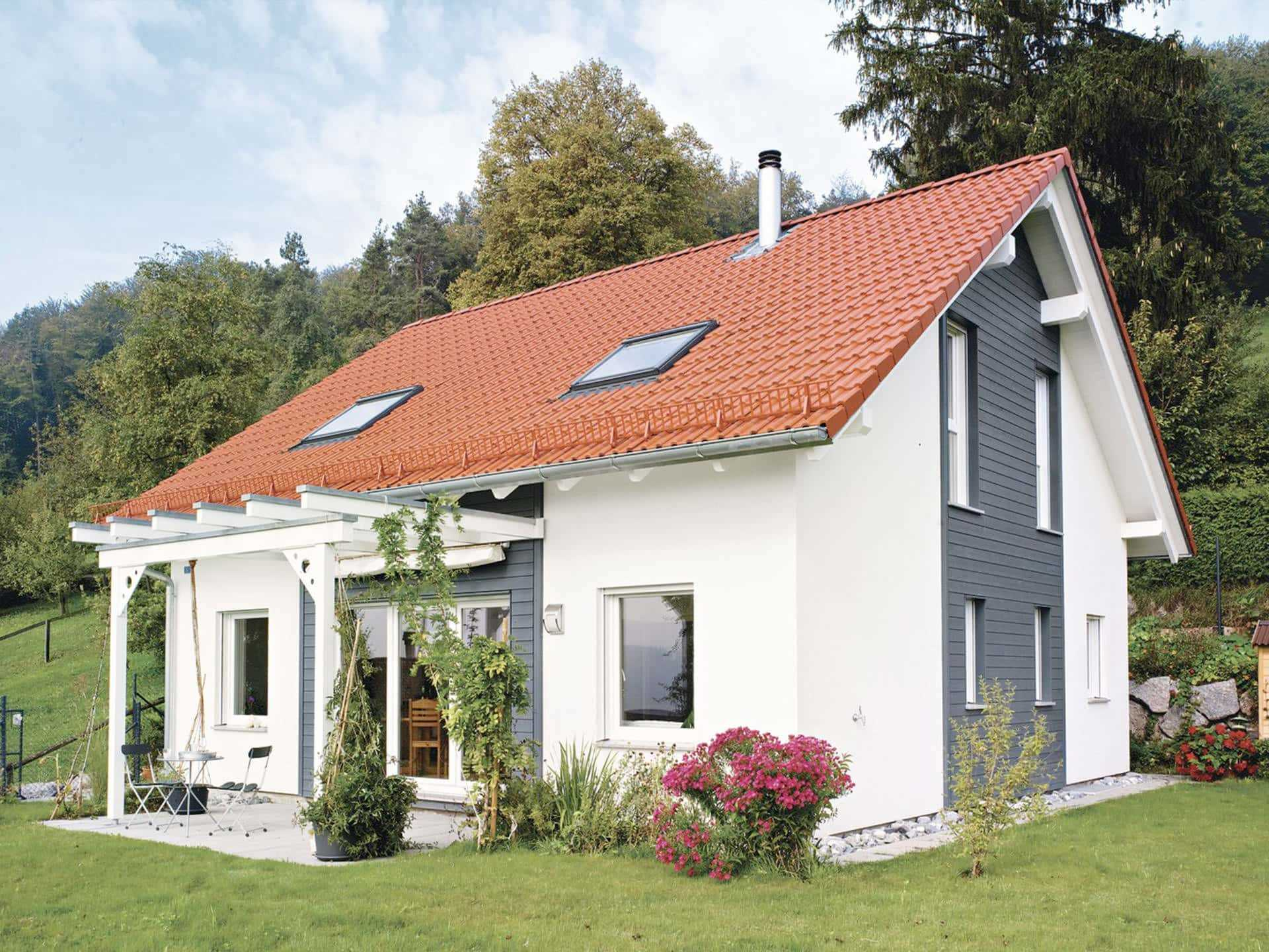 Einfamilienhaus bauen hausbeispiele mit grundrissen for Einfamilienhaus klassisch