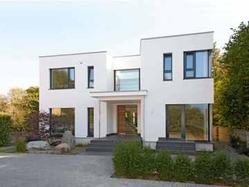 Haus im Bauhausstil