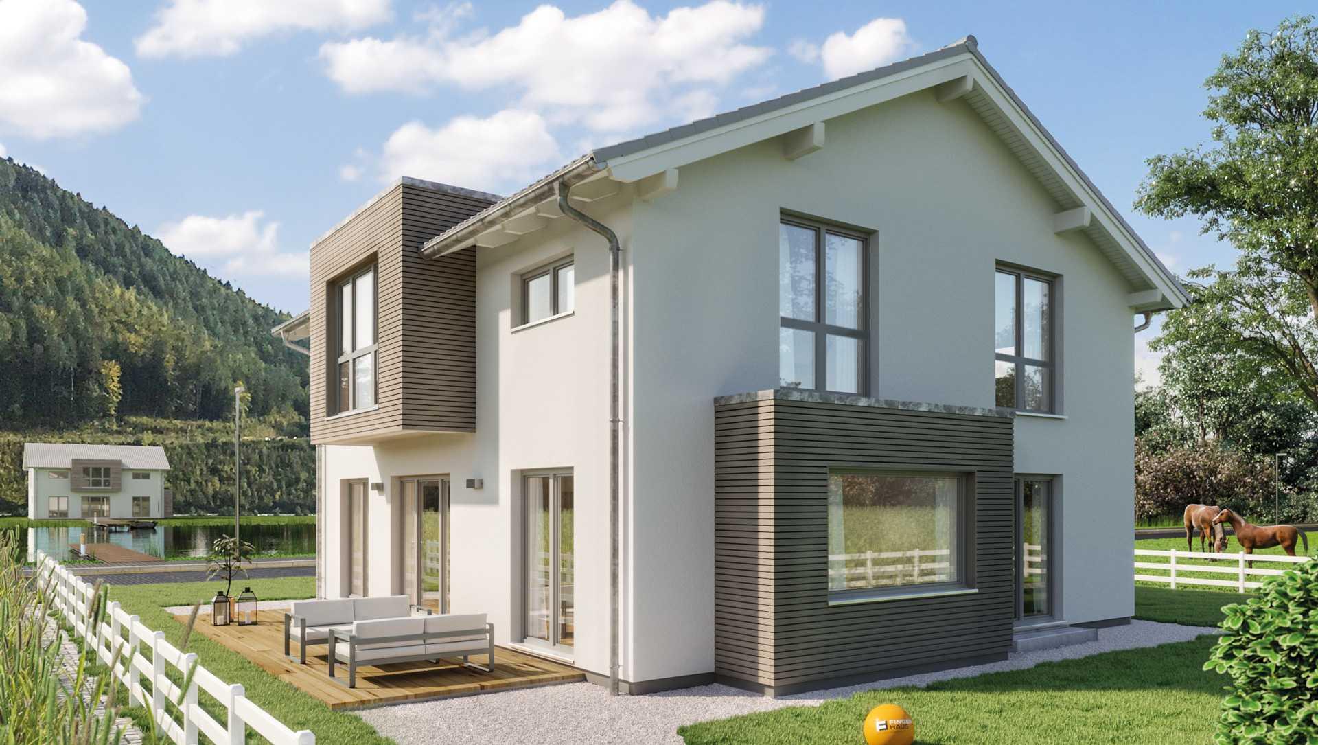 SENTO 400 Einfamilienhaus von FingerHaus