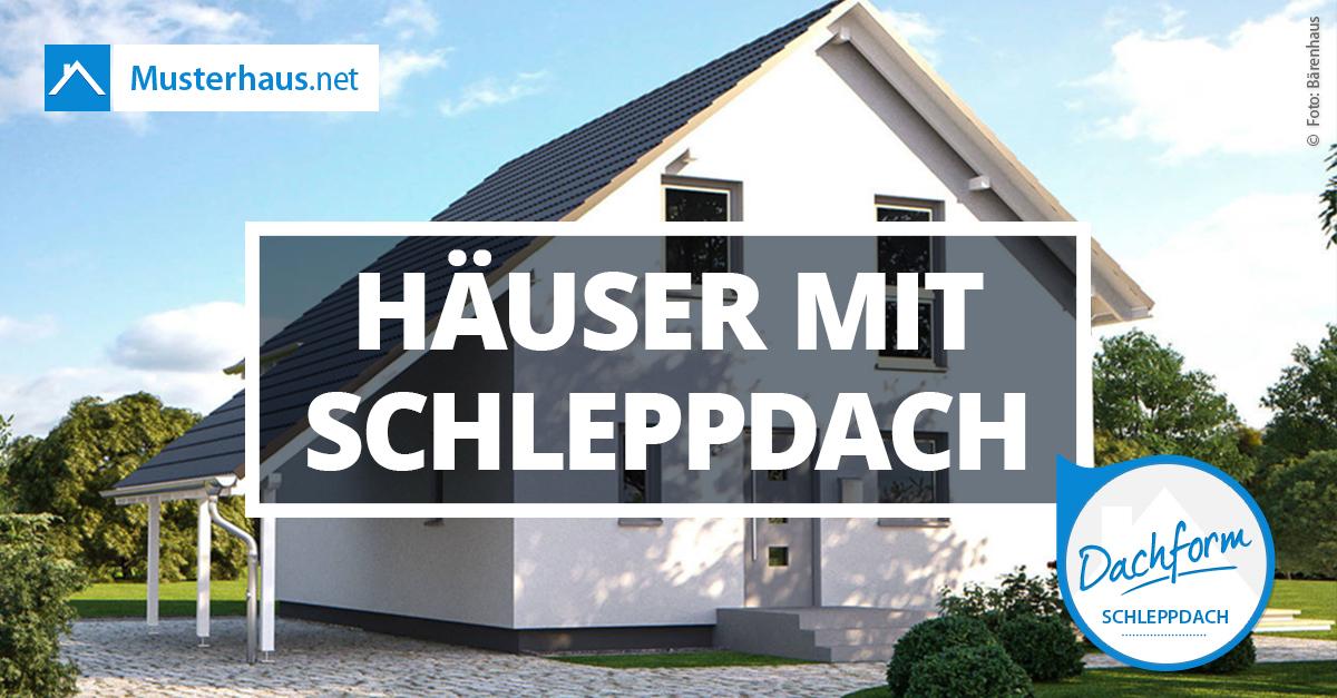 Schleppdach infos beispiele von einer der beliebtesten for Hausplanung berlin